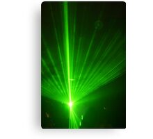 Green Zapppp! Canvas Print
