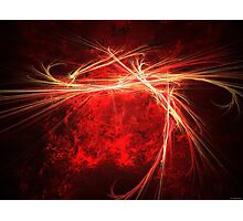 Red Flame Photographic Print