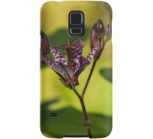 Exotic Tricyrtis Lily Samsung Galaxy Case/Skin