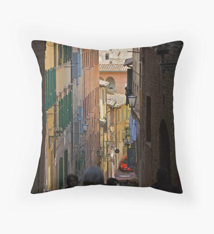 siena street Throw Pillow
