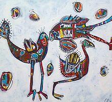 Love Birds by Carmen  Cilliers