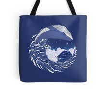 The great whale  Tote Bag