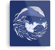 The great whale  Metal Print