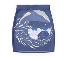 The great whale  Pencil Skirt