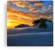 Dune Sunset Canvas Print