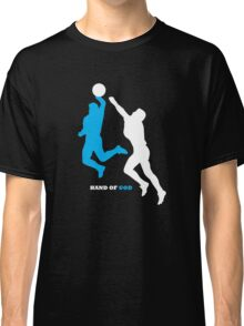 Maradona and the Hand of God Classic T-Shirt