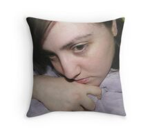 missing him Throw Pillow