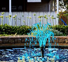 Blue Fountain - Wheatbelt WA by Good-Thanks