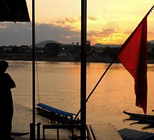 Watching Thailand from Laos by Alexandre James Rocca-serra