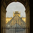 Waiting for the Louvre to Open by Georgia Mizuleva