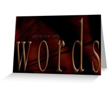 Seductive Within © Words Greeting Card