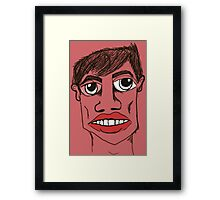 Neighbor's son  Framed Print