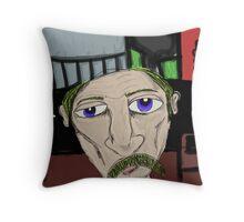 The Homeless Throw Pillow
