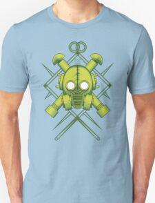 Tribal combat green gasmask Unisex T-Shirt