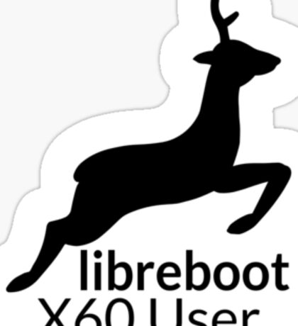 Libreboot X60 User Sticker