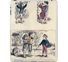 The Little Folks Painting book by George Weatherly and Kate Greenaway 0053 iPad Case/Skin