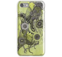 Spring showers iPhone Case/Skin