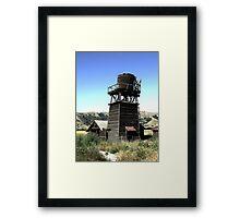 Old Building in HDR Framed Print