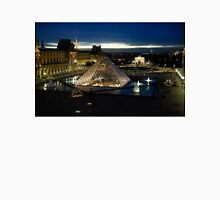 Paris - Louvre Pyramid at Night Unisex T-Shirt