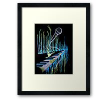 The Sound Of Time Framed Print