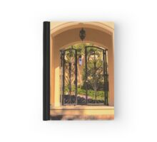 Gated entry Hardcover Journal