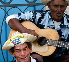 Street singers, Havana, Cuba by buttonpresser
