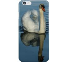 Swan Symmetry -  Graceful Cygnus Olor iPhone Case/Skin