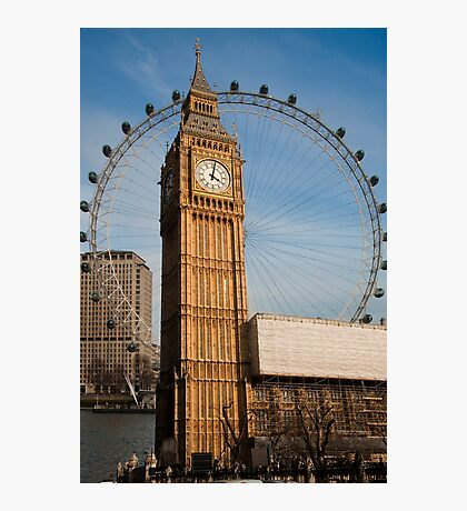 The Two Eyes of London Photographic Print