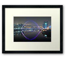 Millennium Bridge, Gateshead Framed Print