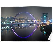 Millennium Bridge, Gateshead Poster
