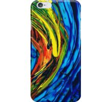 Colorful Abstract Art - Energy Flow 2 - By Sharon Cummings iPhone Case/Skin