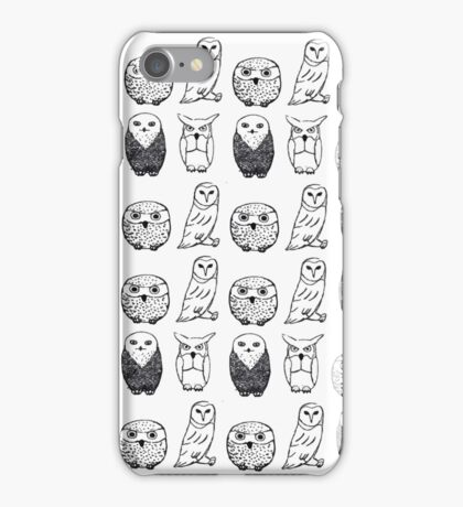 Four Owls iPhone Case/Skin