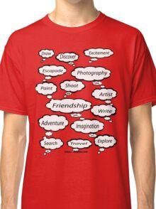 Red Bubble Artist T Shirt Classic T-Shirt
