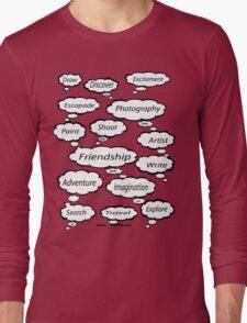 Red Bubble Artist T Shirt Long Sleeve T-Shirt