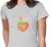 envy spill. Womens Fitted T-Shirt