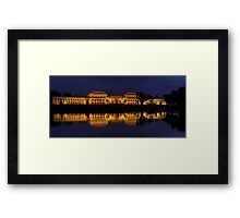 Order in The House (Panoramic)- Old Parliament House, Canberra Australia - The HDR Experience Framed Print