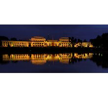 Order in The House (Panoramic)- Old Parliament House, Canberra Australia - The HDR Experience Photographic Print
