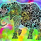 Elephant by leprosa