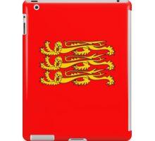 Royal Banner of England, England, Three Lions, 3 Lions, English, British, Britain, UK, RED iPad Case/Skin