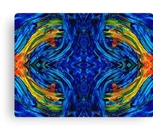 Abstract Art - Center Point - By Sharon Cummings Canvas Print