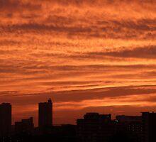City on Fire by kibishipaul