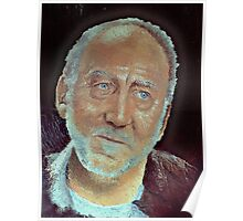 Pallet Knife Pete Townsend Poster