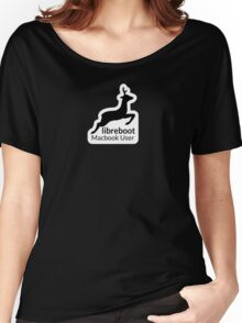 Libreboot Macbook User Women's Relaxed Fit T-Shirt