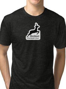 Libreboot Macbook User Tri-blend T-Shirt