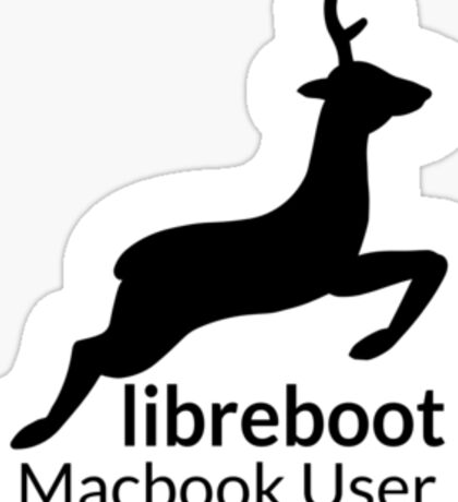 Libreboot Macbook User Sticker