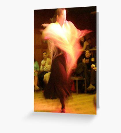 Flamenco - Gema II Greeting Card