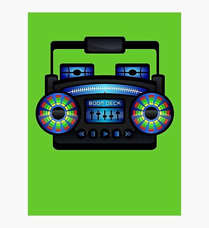 Boom Box by Chillee Wilson Photographic Print