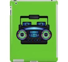 Boom Box by Chillee Wilson iPad Case/Skin