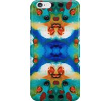 Grace - Colorful Art by Sharon Cummings iPhone Case/Skin