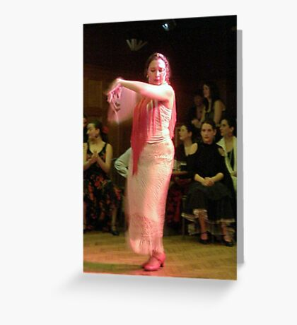 Flamenco - Salia II Greeting Card